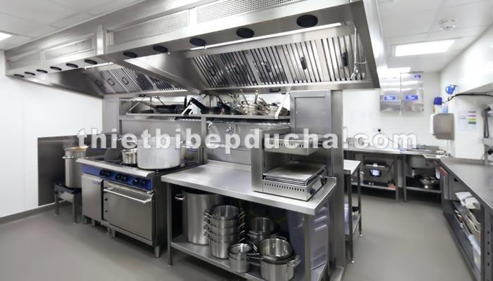 Sản xuất thiết bị bếp công nghiệp
